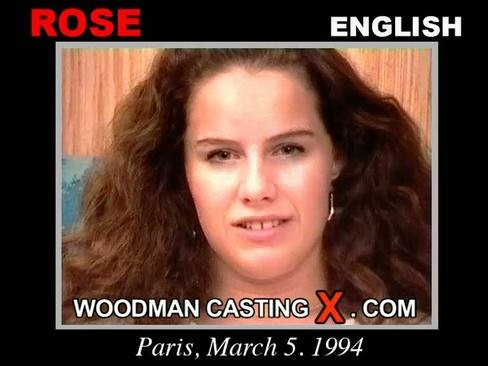 Rose - `Rose casting` - by Pierre Woodman for WOODMANCASTINGX