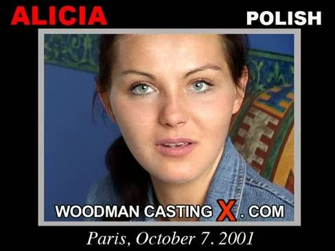 Alicia - `Alicia casting` - by Pierre Woodman for WOODMANCASTINGX