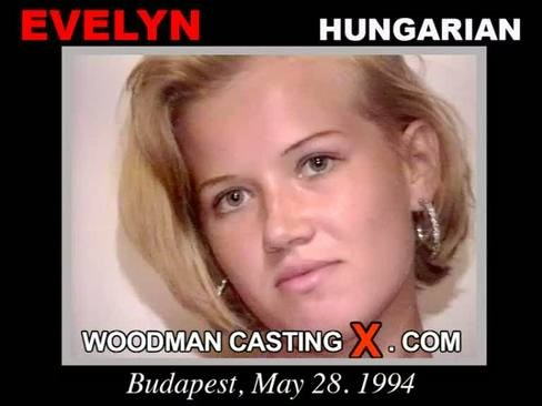 Evelyn - `Evelyn casting` - by Pierre Woodman for WOODMANCASTINGX
