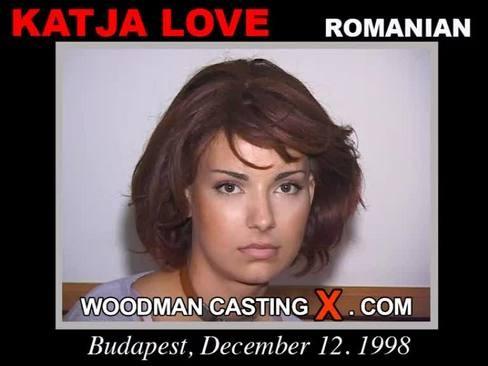 Katja Love - `Katja Love casting` - by Pierre Woodman for WOODMANCASTINGX