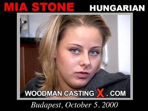 Mia Stone - `Mia Stone casting` - by Pierre Woodman for WOODMANCASTINGX