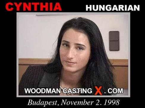 Cynthia - `Cynthia casting` - by Pierre Woodman for WOODMANCASTINGX