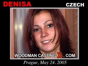 Denisa - `Denisa casting` - by Pierre Woodman for WOODMANCASTINGX