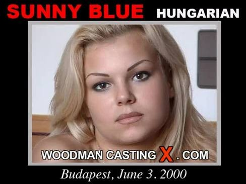 Sunny Blue - `Sunny Blue casting` - by Pierre Woodman for WOODMANCASTINGX