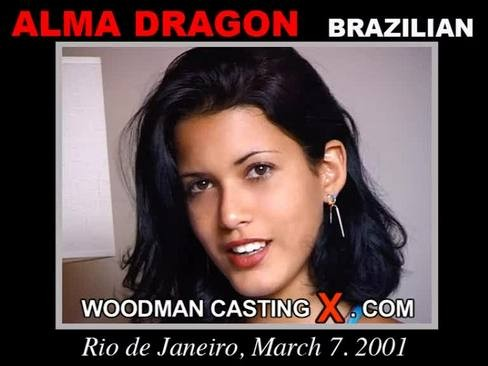 Alma Dragon - `Alma Dragon casting` - by Pierre Woodman for WOODMANCASTINGX