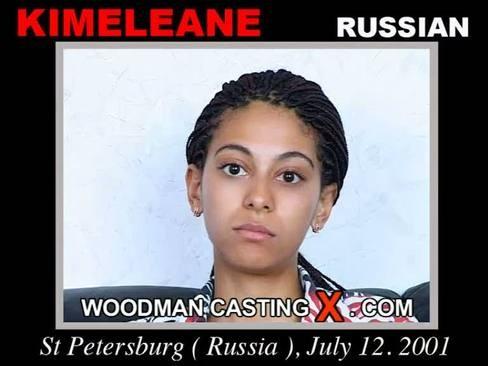 Kimeleane - `Kimeleane casting` - by Pierre Woodman for WOODMANCASTINGX