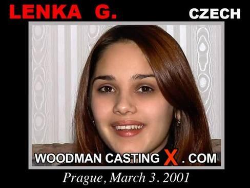 Lenka G - `Lenka G casting` - by Pierre Woodman for WOODMANCASTINGX