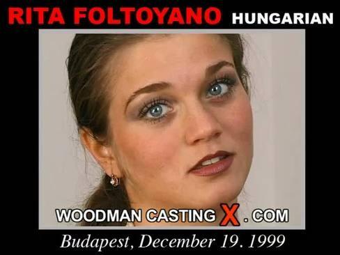 Rita Faltoyano - `Rita Faltoyano casting` - by Pierre Woodman for WOODMANCASTINGX