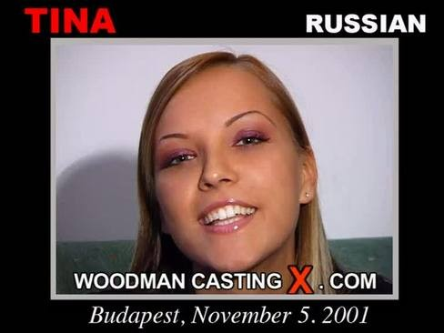 Tina - `Tina casting` - by Pierre Woodman for WOODMANCASTINGX