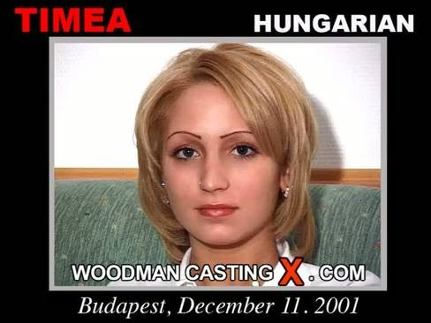 Timea - `Timea casting` - by Pierre Woodman for WOODMANCASTINGX