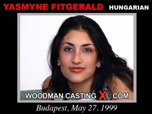 Yasmyne Fitgerald - `Yasmyne Fitgerald casting` - by Pierre Woodman for WOODMANCASTINGX