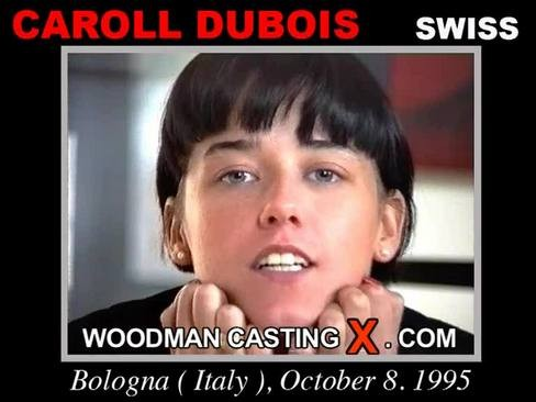 Caroll Dubois - `Caroll Dubois casting` - by Pierre Woodman for WOODMANCASTINGX