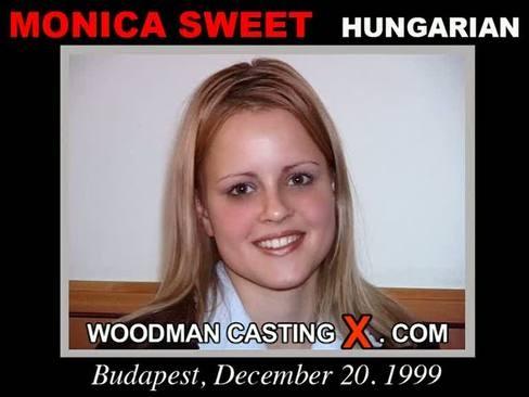 Monica Sweet - `Monica Sweet casting` - by Pierre Woodman for WOODMANCASTINGX