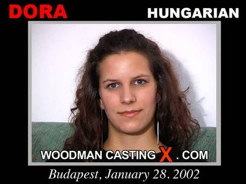 Dora - `Dora casting` - by Pierre Woodman for WOODMANCASTINGX