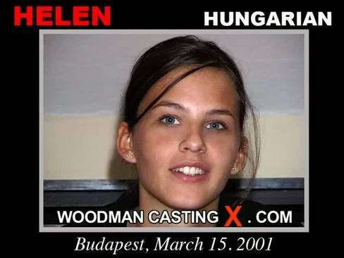 Helen - `Helen casting` - by Pierre Woodman for WOODMANCASTINGX