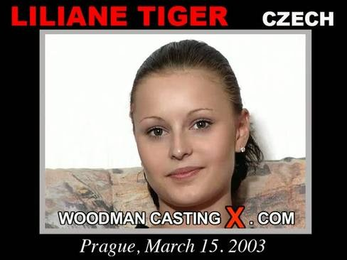 Liliane Tiger - `Liliane Tiger casting` - by Pierre Woodman for WOODMANCASTINGX