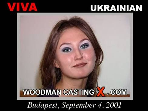 Viva - `Viva casting` - by Pierre Woodman for WOODMANCASTINGX