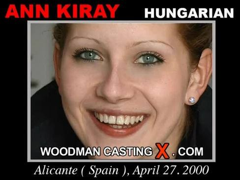 Ann Kiray - `Ann Kiray casting` - by Pierre Woodman for WOODMANCASTINGX