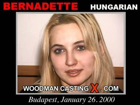 Bernadette - `Bernadette casting` - by Pierre Woodman for WOODMANCASTINGX