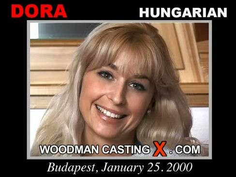 Dora - `Dora casting` - by Pierre Woodman for WOODMANCASTINGX