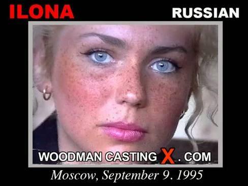 Ilona - `Ilona casting` - by Pierre Woodman for WOODMANCASTINGX