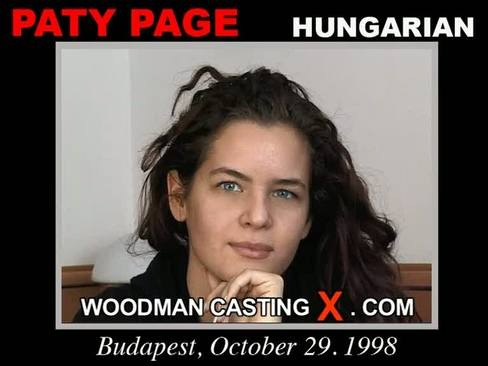 Paty Page - `Paty Page casting` - by Pierre Woodman for WOODMANCASTINGX
