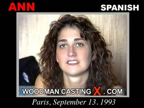 Ann - `Ann casting` - by Pierre Woodman for WOODMANCASTINGX