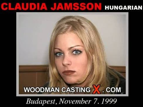 Claudia Jamsson - `Claudia Jamsson casting` - by Pierre Woodman for WOODMANCASTINGX