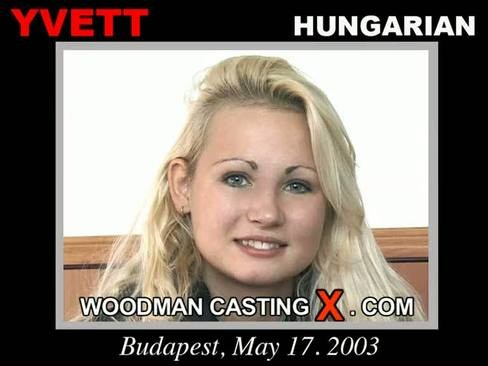 Yvett - `Yvett casting` - by Pierre Woodman for WOODMANCASTINGX