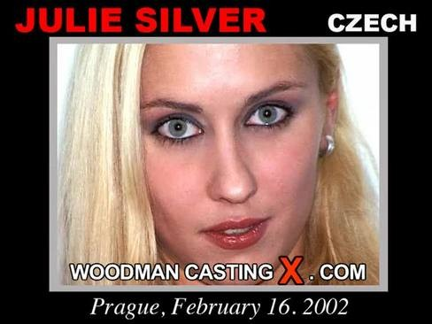 Julie Silver - `Julie Silver casting` - by Pierre Woodman for WOODMANCASTINGX