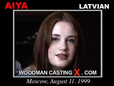 Aiya - `Aiya casting` - by Pierre Woodman for WOODMANCASTINGX