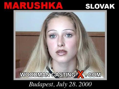 Marushka - `Marushka casting` - by Pierre Woodman for WOODMANCASTINGX