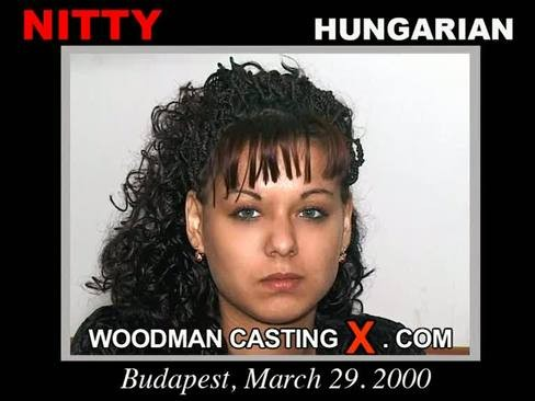 Nitty - `Nitty casting` - by Pierre Woodman for WOODMANCASTINGX