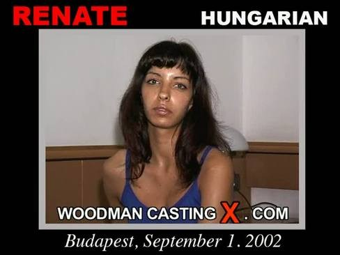 Renate - `Renate casting` - by Pierre Woodman for WOODMANCASTINGX