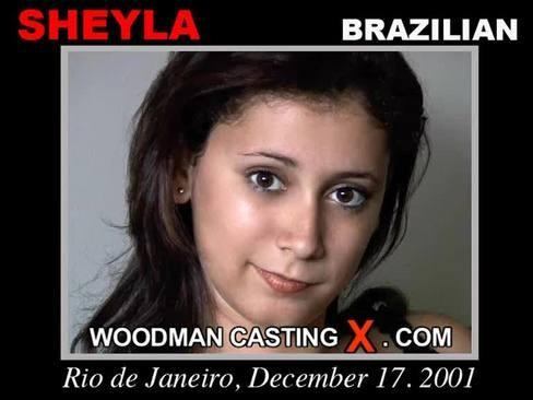 Sheyla - `Sheyla casting` - by Pierre Woodman for WOODMANCASTINGX