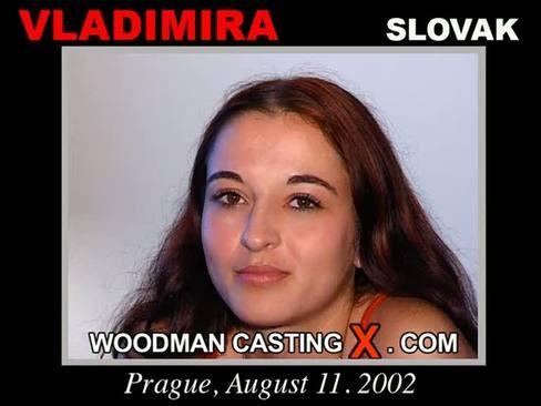 Vladimira - `Vladimira casting` - by Pierre Woodman for WOODMANCASTINGX