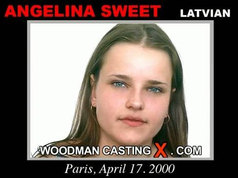 Angelina Sweet - `Angelina Sweet casting` - by Pierre Woodman for WOODMANCASTINGX