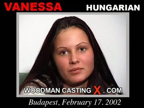 Vanessa - `Vanessa casting` - by Pierre Woodman for WOODMANCASTINGX