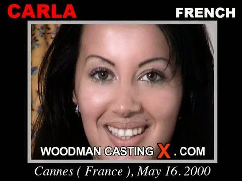 Carla - `Carla casting` - by Pierre Woodman for WOODMANCASTINGX