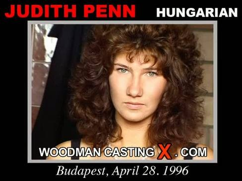 Judith Penn - `Judith Penn casting` - by Pierre Woodman for WOODMANCASTINGX