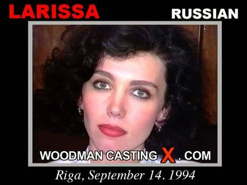 Larissa - `Larissa casting` - by Pierre Woodman for WOODMANCASTINGX