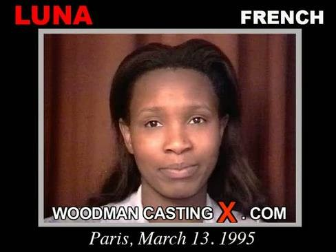 Luna - `Luna casting` - by Pierre Woodman for WOODMANCASTINGX
