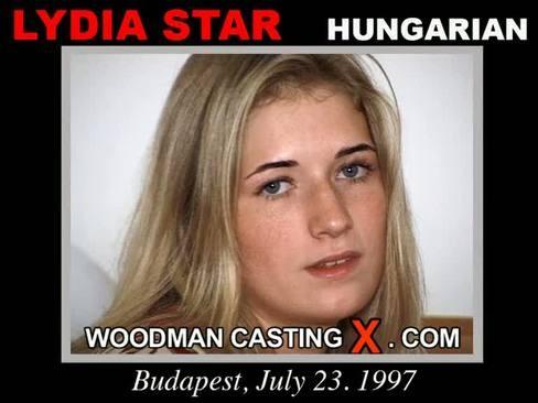 Lydia Star - `Lydia Star casting` - by Pierre Woodman for WOODMANCASTINGX