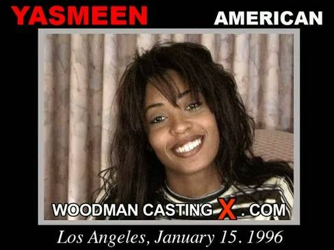 Yasmeen - `Yasmeen casting` - by Pierre Woodman for WOODMANCASTINGX