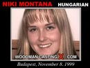 Niki Montana casting video from WOODMANCASTINGX by Pierre Woodman