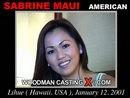 Sabrine Maui casting