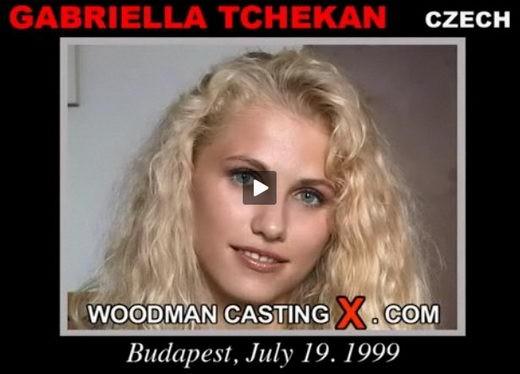 Gabriella Tchekan - `Gabriella Tchekan casting` - by Pierre Woodman for WOODMANCASTINGX