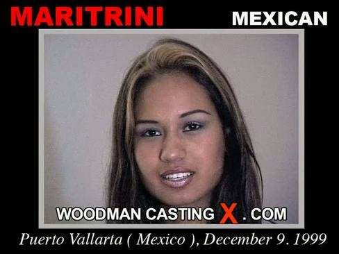 Maritrini - `Maritrini casting` - by Pierre Woodman for WOODMANCASTINGX