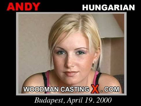 Andy - `Andy casting` - by Pierre Woodman for WOODMANCASTINGX