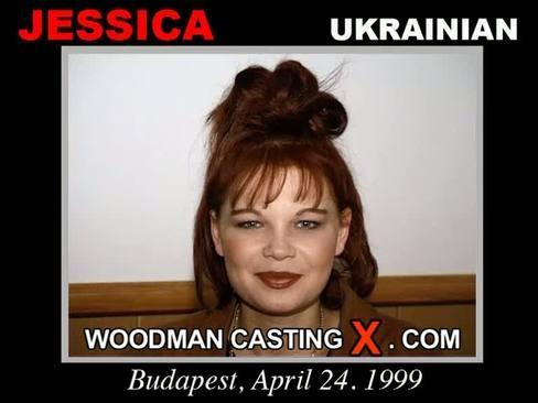 Jessica - `Jessica casting` - by Pierre Woodman for WOODMANCASTINGX